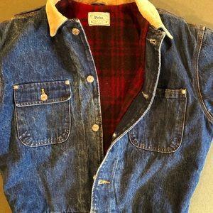 Vintage Polo Ralph Lauren denim jacket (M)